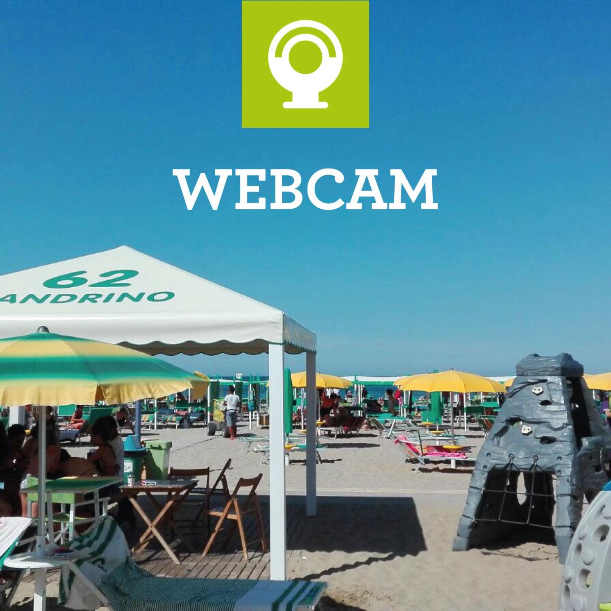 Webcam in tempo reale spiaggia 62 sandrino riccione - Web cam riccione bagno 81 ...